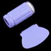 1 комплект силикон ногтей печать печать Стампер передачи + Скребок комплект DIY печать сумрака