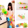 MyMei 50cm Colorful Inchworm Soft Caterpillar Lovely Developmental Child Baby Toy Doll new arrival colorful 10 row bead wooden abacus child educationnal calculate math learning teaching tool kid baby toy wholesale