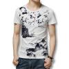 Футболки мужские футболки 2016 лето мужчины футболки с коротким рукавом белье хлопок Моды для мужчин печатных T рубашки повседневные тонкий подходит горячая Продажа рубашки футболки для детей