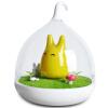 Newman подарок Танабата ночь свет LED аккумулирования энергии спальня ночники затемнением небольшой лампы кормления ребенка кролика светло-желтый день рождения