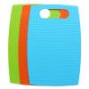 Копье (Suncha) Классификация пластиковая разделочная доска наковальня плиты фрукты пищевой добавки композиции Нож Предохранительная пластина три панели установлены ZB0029