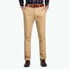 Bejirog мужские брюки прямые повседневные деловые брюки