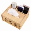 Буква (TRNFA) TN-M660 шкафы деревянные роторный стол для хранения полки ящик для хранения косметического ухода за кожей для отделки бак для картриджа отображения полки многослойной твердой древесины ларец мебель своими руками шкафы кладовки полки