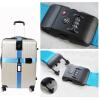 MyMei Koffergurt Suitcase combination lock / TSA lock luggage belt luggage strap tsa password lock tsa 3 digit combination luggage lock with adjustable strap