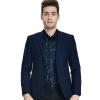 Бао Ло Фади BAOLUOFADI мужской бизнес случайный пиджак мужской Корейский Тонкий небольшой костюм синий 48 266 304 904 паяльник bao workers in taiwan pd 372 25mm