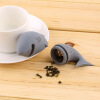 Симпатичные Силиконовые акулы Infuser Tea Leaf Сито Herbal специй фильтр Диффузор aladdin tea infuser