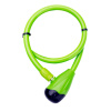 MyMei Bicycle Bike Cable Lock High Quality Security Lock Alloy Lock Head 65cm +2 keys