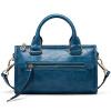 ТОЛЬКО новые сумки ретро мотоцикла сумка прилив мода PU сумка плечо сумка синий L-1506144