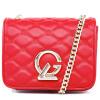 цена на Guy Laroche (Guy Laroche) Г-жа ватные кожаная сумка способа цепи бизнес маленький серый мешок труба GS1280022-02