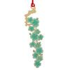 Shaoze корейская культура латунь металл закладка мелкозернистая серии вена - Acacia оставляет поздравительные открытки Рождество Новый год подарок идеи старый новый год с денисом мацуевым