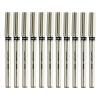 Мицубиси (Uni) UB-177 металлическая оболочка ручки (водостойкие) ручка ролика (красный) 0.7MM (12 палочек) мицубиси спейс раннер купить новый