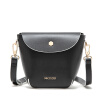 MICOCAH Brand Black And White Fashion 2017 Women Bag Environmental PU Leather Women Messenger Bags New Arrival GL30019