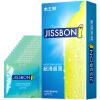 Jissbon Ультратонкие презервативы с дополнительной смазкой 12 шт полиуретановые презервативы 12 шт sagami original 002