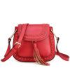 Красная стрекоза Красная стрекоза Красная стрекоза Красная стрекоза моды сумки сплетенные мешок плеча диагональ пакет 6692CG7161SD красный