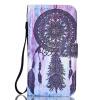 цена на Dreamcatcher Дизайн Кожа PU откидная крышка карточки бумажника держатель случая для LG K10
