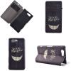 Улыбаясь дизайн зубов PU кожа флип крышку кошелек карты держатель чехол для Sony Xperia Z4 mini sony xperia st21i купить заднюю крышку в санкт петербурге