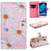 Розовый цветок дизайн искусственная кожа флип кошелек карты держатель чехол для SAMSUNG Galaxy S4 I9500