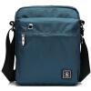 Shengdabaoluo людей сумка сумка Сумки мужского случайного холст мешок водонепроницаемый мешок синий Xiegua