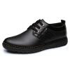 Мужская бизнес случайный и удобные резиновые подошвы обуви кружева