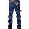 Джинсы Щипцы Джинсы Мужские повседневные хлопок Модные джинсы D3A51 Cowboy Blue 40