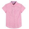 Рубашка с короткими рукавами с короткими рукавами с короткими рукавами женская корейская дикая хлопковая рубашка 10215040013 красный тон M кеды piazza italia piazza italia pi022amqjn29