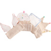 WELLBER марли и полотенце для младенцев 40 * 18cm 4шт. wellber детская простыня на ��ровати для младенца