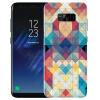 Yomo Samsung S8 плюс телефон оболочки мобильный телефон оболочки мобильный телефон защитный рукав s8plus рельеф текстуры коры Mosaic
