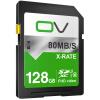 OV SD карта 128G 80MB / s карта памяти класс10 высокоскоростное хранилище SDXC SLR цифровая камера автомобиль флеш-память карта