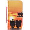 Али Дизайн Кожа PU откидная крышка бумажника карты держатель чехол для IPHONE 5C цветочный дизайн кожа pu откидная крышка бумажника карты держатель чехол для iphone 7g