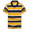 Bejirog мужская футболка модная повседневная одежда с полосами отложной воротник
