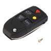 5 Кнопка Remote Case Fob Флип Key Shell подходят для VOLVO S60 S80 V70 XC70 XC90 купить шаровую на volvo s80 неоригинал