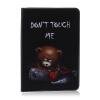 Классическая откидная крышка с тиснением для медведя с функцией подставки и слотом для кредитных карт для SAMSUNG GALAXY Tab A 9.7 T550 erotic fantasy teadrop m кольцо с металлическим языком