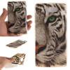 Обложка Белый тигр шаблон Мягкий тонкий ТПУ резиновый силиконовый гель чехол для HUAWEI Y5 II белый мандала шаблон мягкий тонкий резиновый тпу силиконовый чехол гель для huawei y5 ii