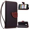 Черный Дизайн Кожа PU откидная крышка бумажника карты держатель чехол для Alcatel OneTouch Pixi3 4.0 мобильный телефон alcatel onetouch 2008g black white