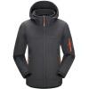 Elmont ALPINT MOUNTAIN Наружные мягкие куртки Shell Couples Мужские и женские флисовые ветрозащитные мягкие раковины 620-004 Grey M женские куртки