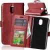 Браун Стиль Классический Флип Обложка с функцией подставки и слот для кредитных карт для Lenovo VIBE P1M смартфон fly fs512 nimbus 10 8гб черный dual sim 4g lte 3g
