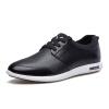 Playboy (PLAYBOY) Мужская кружевная мода дикие кружевные туфли деловые повседневные мужские туфли черные 42