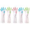 Маньмяо долговечный водонепроницаемые тонкие каучуковые перчатки в кухне