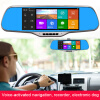 MyMei Car 7.0 Touch Android Car DVR Camera Radar Detectors Parking Rearview Navigator