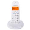Motorola (Motorola) C1001OC цифровой беспроводной телефон базовая машина одиночный звонок экран дисплея подсветка домашний офис фиксированный беспроводной телефон стационарный (белый) телефон
