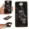 Черный лев шаблон Мягкий чехол тонкий ТПУ резиновый силиконовый гель чехол для Nokia Lumia650 черный лев шаблон мягкий чехол тонкий тпу резиновый силиконовый гель чехол для lg k8