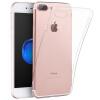 Плюс отличные iPhone7 плюс телефон оболочки / защитный рукав компании Apple 7plus мобильный телефон наборы силикона мягкой оболочки прозрачной прозрачной сопротивления капли