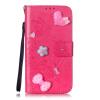 Цветок розы Дизайн PU кожа флип кошелек карты держатель чехол для IPHONE 5C чехол для iphone 5c ferrari ff collection flip feffflpmre red