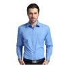 PAUL JONES рубашка мужчины бизнес случайные мужчины платье чистый цвет с длинными рукавами рубашка машина стирка бесплатно горячий 5565 синий и синий 41 платье vonflaibach цвет синий