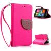 Розовый Дизайн Кожа PU откидная крышка бумажника карты держатель чехол для Nokia Lumia 530 чехол deppa prime classic для nokia n9 lumia 800 кожа черный