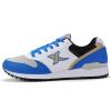 (XTEP) мужская обувь кроссовки спортивная обувь сетка свет дышащая мужчины досуг кроссовки 985219113976 синий белый 45 ярдов