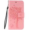 Pink Tree Design PU кожа флип крышку кошелек карты держатель чехол для LENOVO A2020 qx42 s1