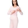 Aibo отцовства одежды беременных женщин грудного вскармливания осенние брюки костюм беременных женщин пижамы домашнее обслуживание на открытом кормлении молоко M306 розовый XXL брюки для беременных topshop 4 22