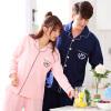 Арктический кашемир хлопок пижамы домашний сервис мужчин и женщин пары пижамы могут носить с длинными рукавами кардиган хлопок досуга домашний костюм костюм женский классический цвет L домашний кабинет
