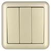ABB переключатель гнездо панели кварто одного управления переключателем Dejing серии Gold AJ104-PG контактор abb 1sbl387001r1300